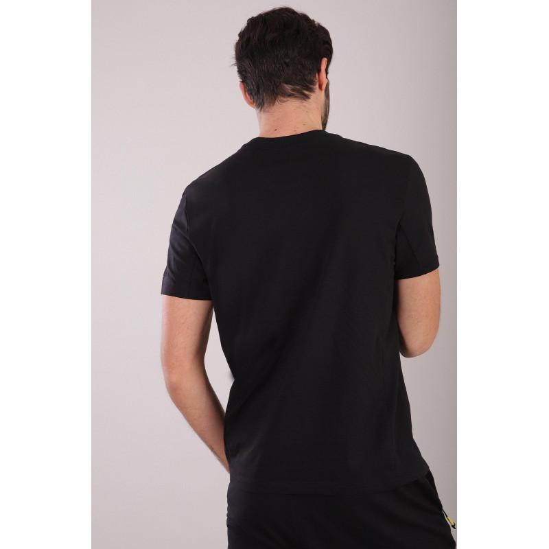 Herren T-Shirt mit Tasche - Black - N0