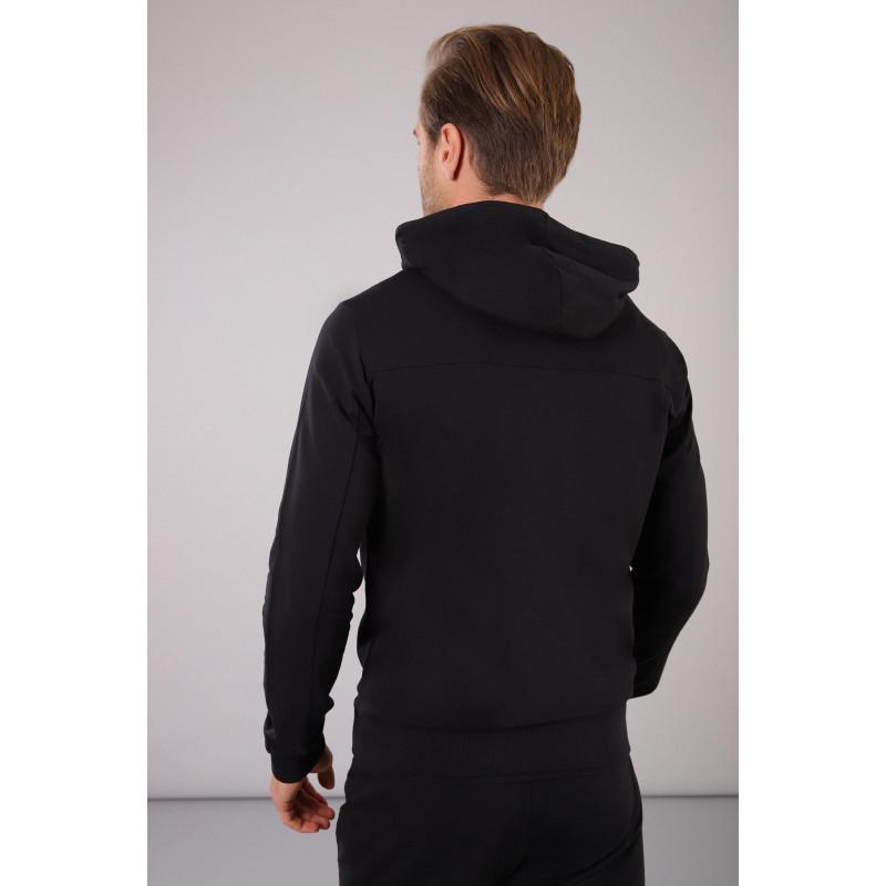 Herren Kapuzen-Sweatshirt - Black - N0