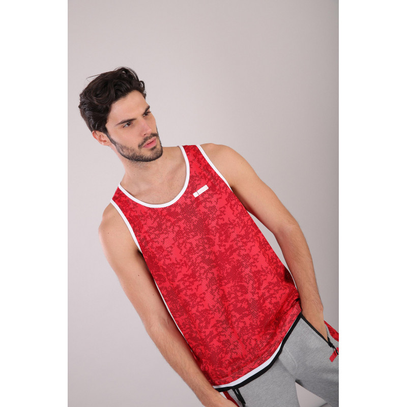 Herren Tank Top - All Over Dirty Dyed - R76R