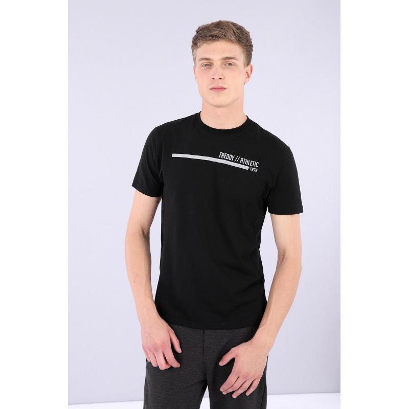 Herren T-Shirt Athletic - Black - N0