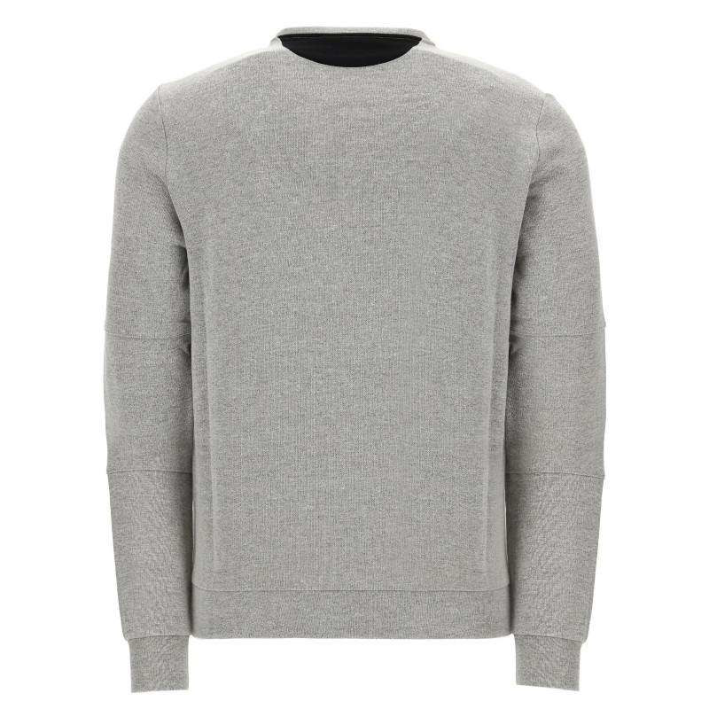 Herren Sweatshirt - Melange Grey - H105