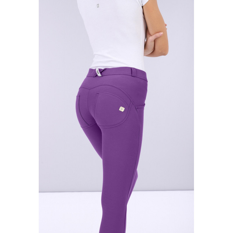 WR.UP® Drill - Regular Waist Skinny - Made in Italy - Chive Blossom - E530