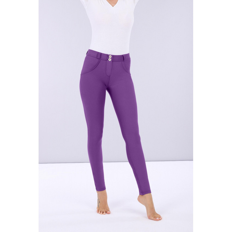 WR.UP® - Regular Waist Skinny - Made in Italy - Drill - Chive Blossom - E530