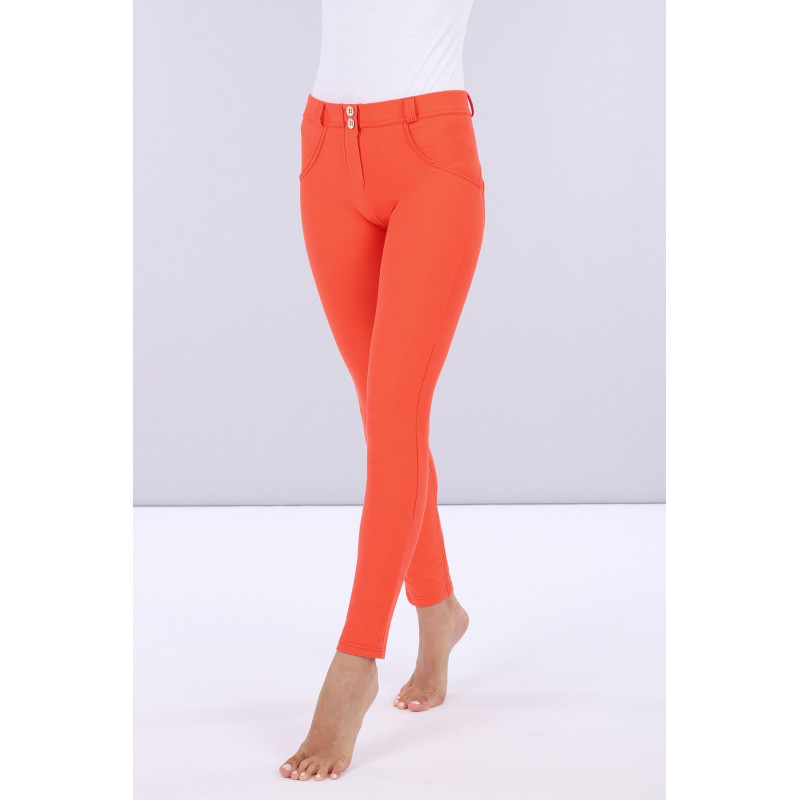 WR.UP® Drill - Regular Waist Skinny - Made in Italy - Nasturtium - A770