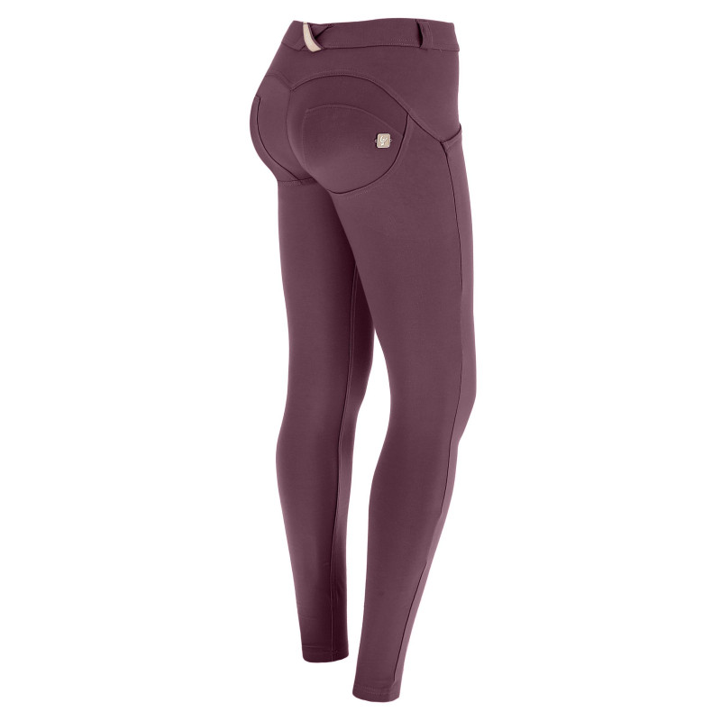 WR.UP® - 7/8 Regular Waist Super Skinny - Claret Red - R720