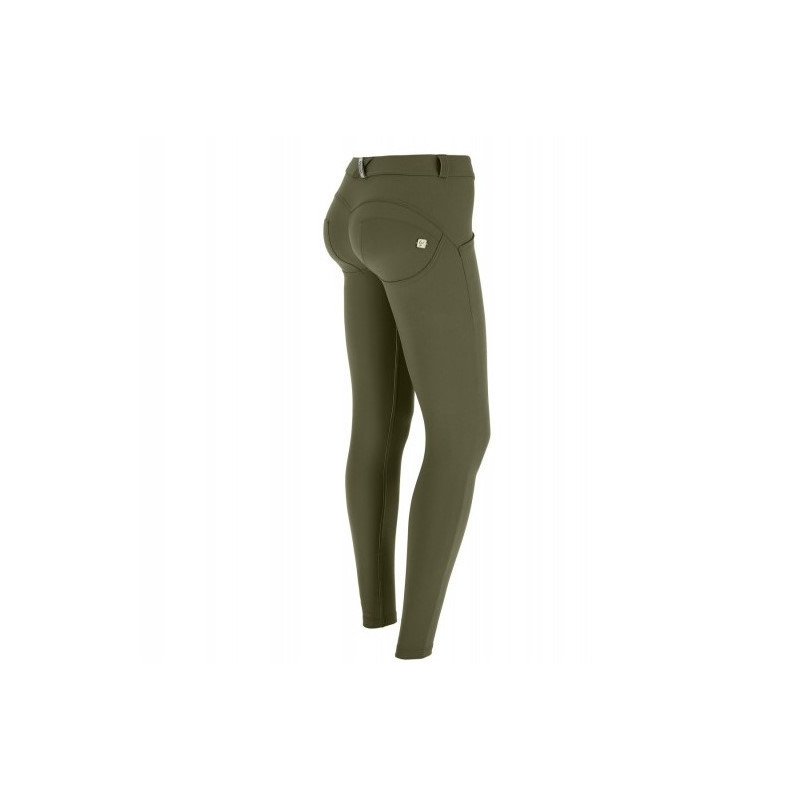WR.UP® - D.I.W.O.® Pro - Regular Waist Super Skinny mit Beauty Effekt - Winter Moss - V1120