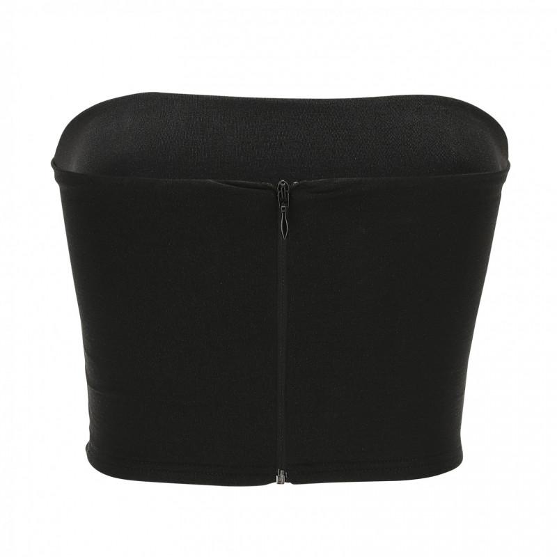 WR.UP® Denim - 7/8 Regular Waist Super Skinny - Black Denim - Black Seam - J7N
