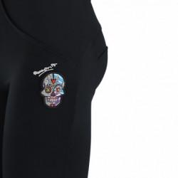 Herren T-Shirt mit Mesh-Streifen - Melange Grey - H101