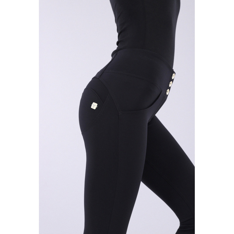 WR.UP® - D.I.W.O Pro - Regular Waist Super Skinny mit Beauty Effekt - Black - N0