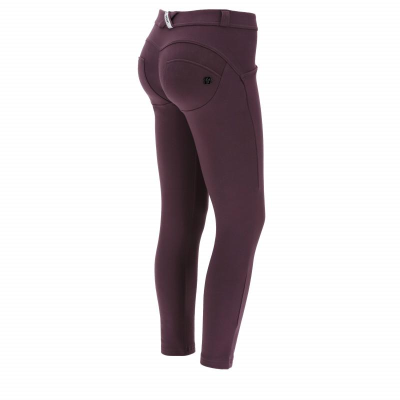 WR.UP® - 7/8 Regular Waist Skinny - Fleece - Plum Perfect - E410