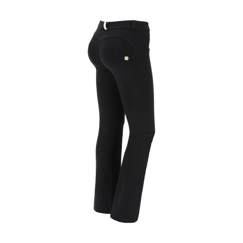 WR.UP® - Regular Waist Flare - Black - N0