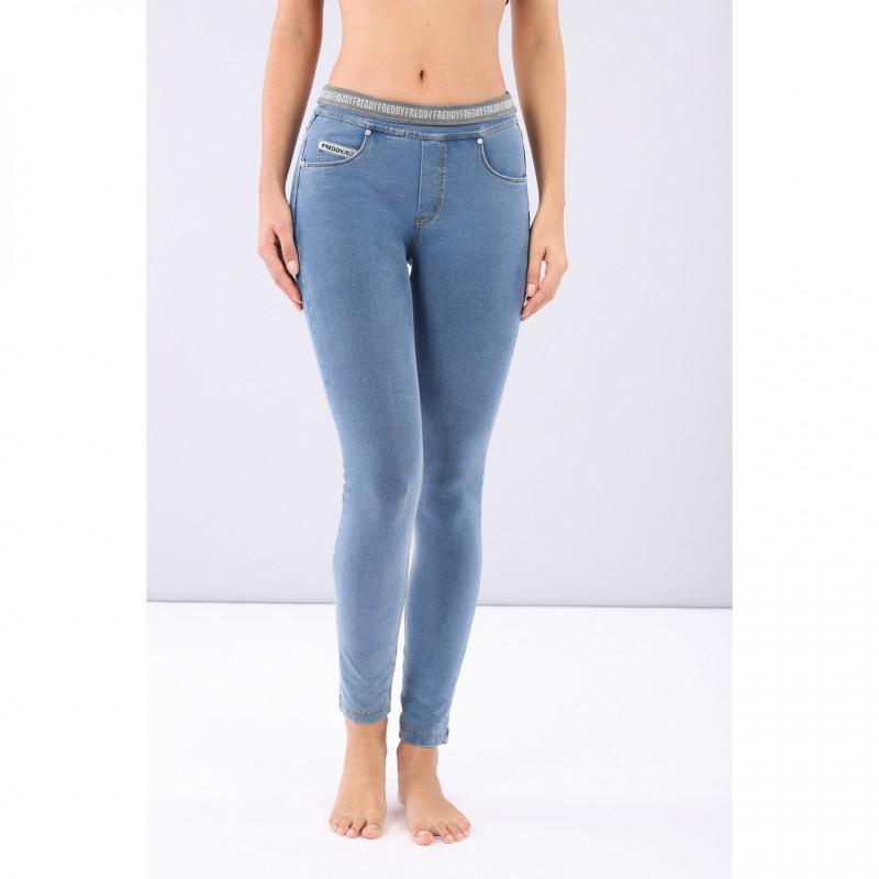 N.O.W.® Yoga - Skinny mit umschlagbarem Taillenbund - J4Y