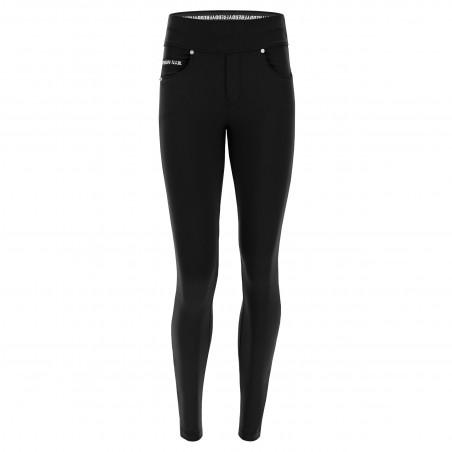 N.O.W.® D.I.W.O.® Pro Yoga - Skinny mit umschlagbarem Taillenbund - Black - N0