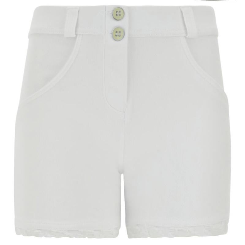 WR.UP® Denim Shorts - Regular Waist - White - W0