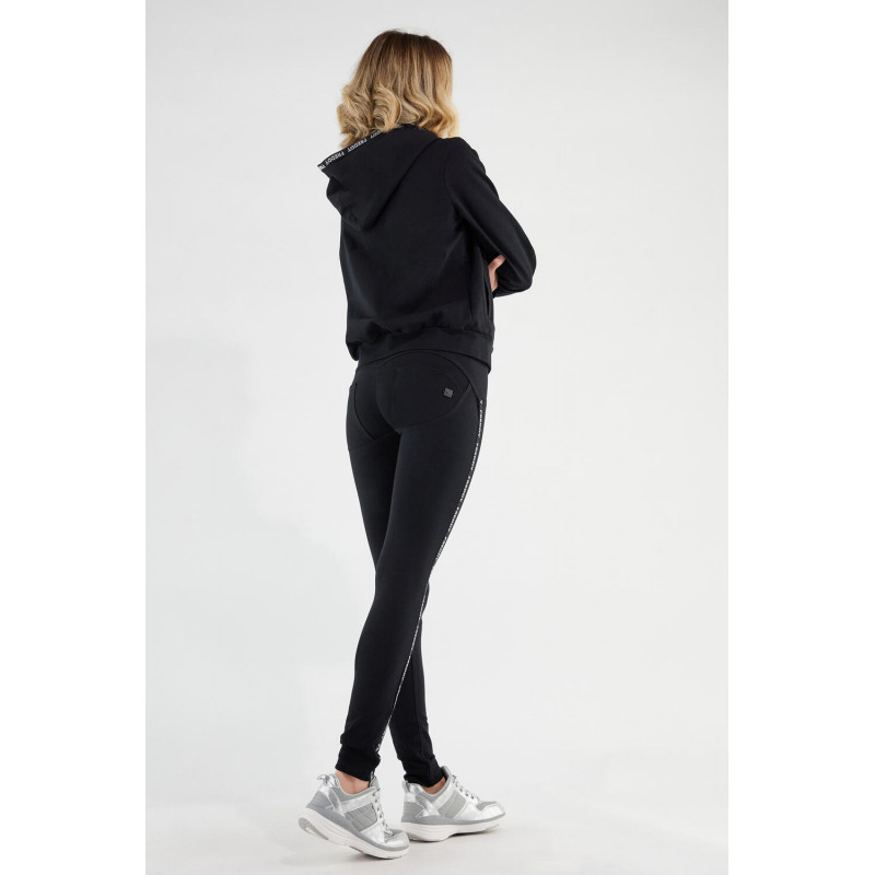 WR.UP®-IN- Freizeitanzug - mit Kapuzen-Sweatshirt und WR.UP® Hose - Black - N0