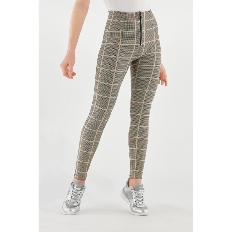 WR.UP® - High Waist Skinny - Glencheck-Muster - Pied De Poule - NMZ0