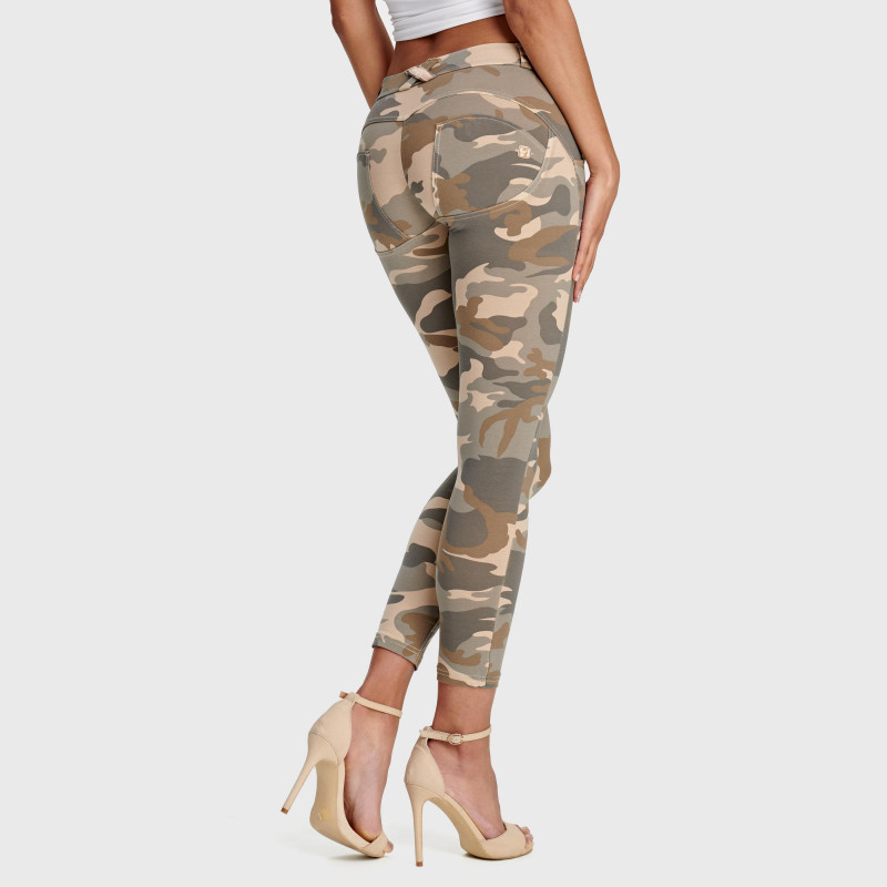 WR.UP® - 7/8 Regular Waist Super Skinny - Camouflage - Z48M