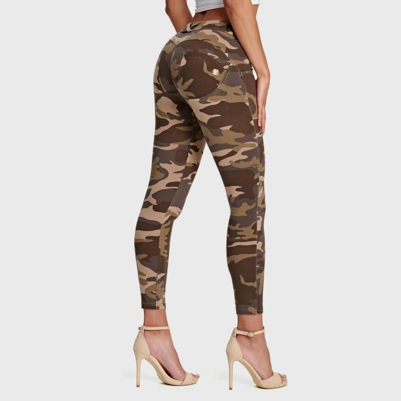 WR.UP® - 7/8 Regular Waist Super Skinny - Camouflage - M95M