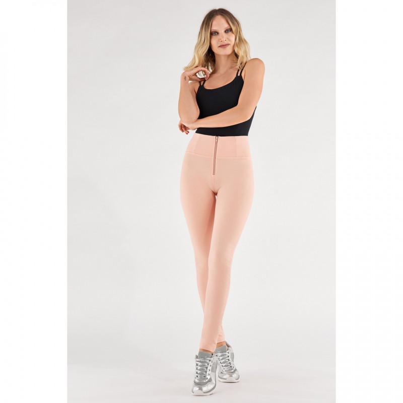 WR.UP® - High Waist Skinny - Pastellfarbe - Rose Cloud - P340