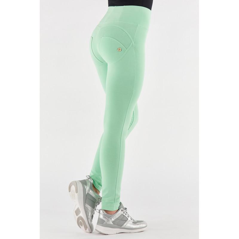 WR.UP® - High Waist Skinny - Pastellfarbe - Green Ash - D50
