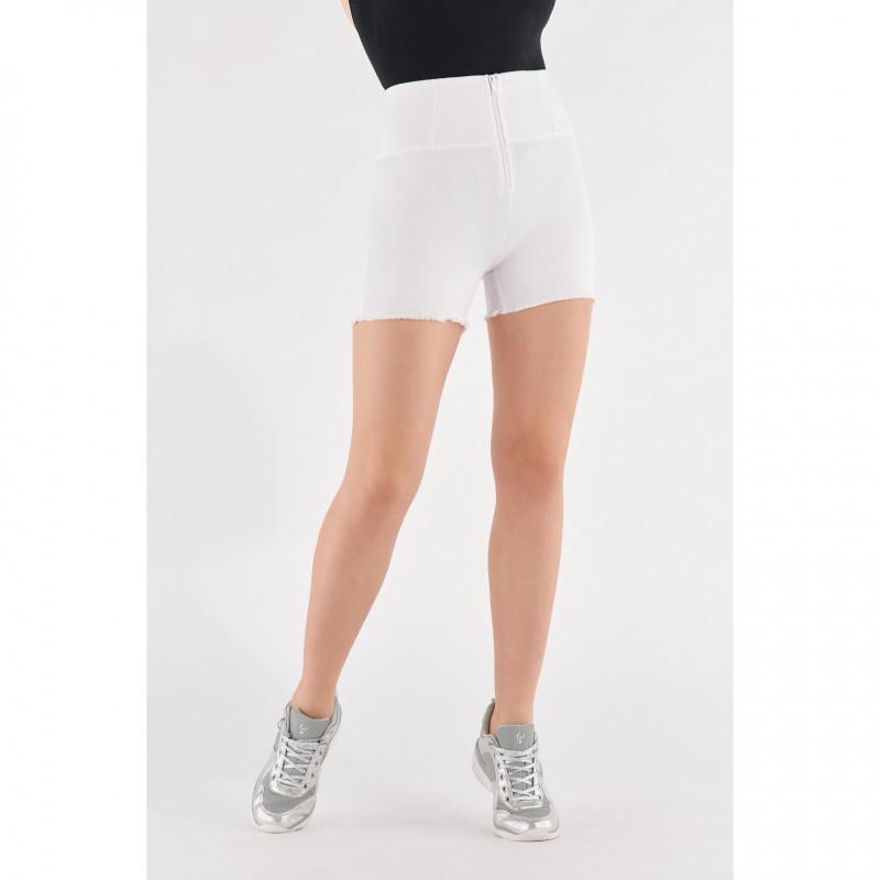 WR.UP® Denim Shorts - High Waist - White - W0