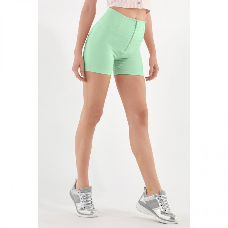 WR.UP® Drill Shorts - High Waist - Green Ash - D50