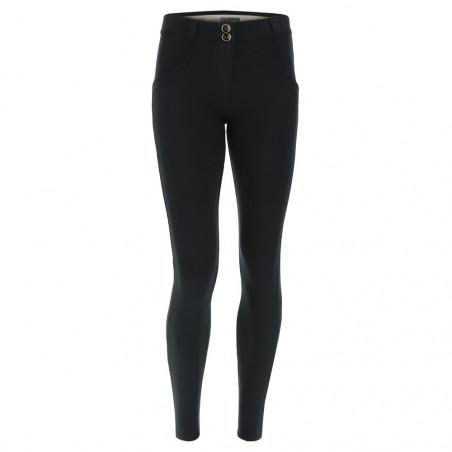 WR.UP® - Regular Waist Skinny - Heavy Jersey Stretch - Black - N0