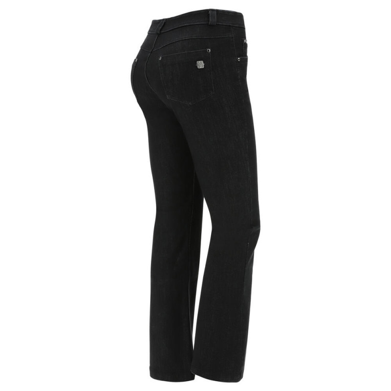 WR.UP® - High Waist Skinny aus Latex - Black - N0