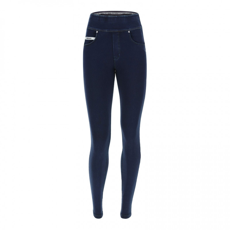 N.O.W.® Yoga - Skinny mit umschlagbarem Taillenbund - J0B