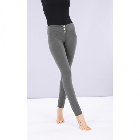 WR.UP® - Mid Waist Skinny - Dark Grey - G140
