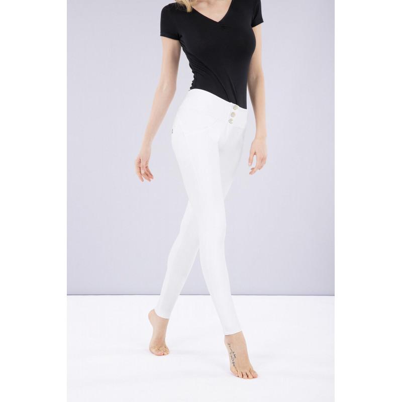 WR.UP® Ecoleder - Mid Waist Skinny - White - W0