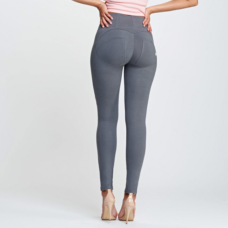WR.UP® - High Waist Skinny - Dark Grey - G140