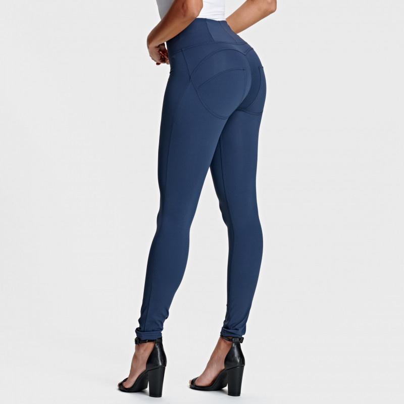 WR.UP® - D.I.W.O.® Pro - High Waist Skinny - Navy Blue - B940
