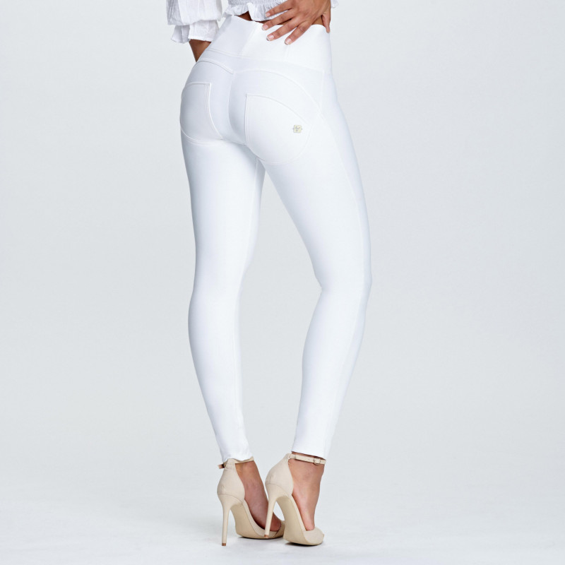 WR.UP® Ecoleder - High Waist Skinny - White - W0